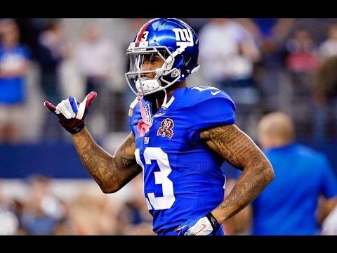7debb7168a2 Odell Beckham Jrs Drone Drop challenge in the Pro Bowl Skills Challenge! He  won it all! Sick Catch! - YouTube