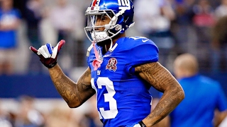 Odell Beckham Jrs Drone Drop challenge in the Pro Bowl Skills Challenge! He won it all! Sick Catch!