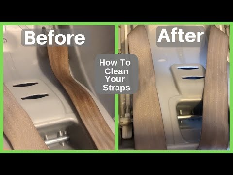 How To Clean Your Car Seat Straps