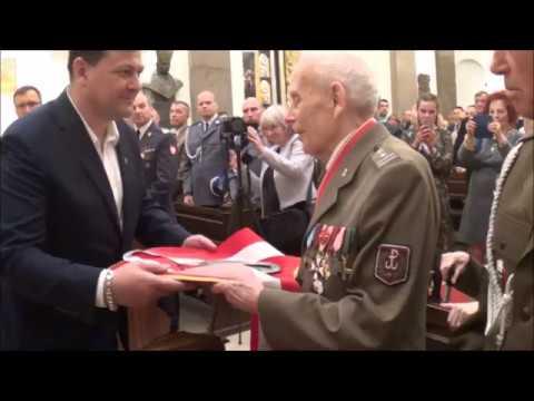 95  urodziny płk. Tadeusza Bieńkowicza ps.  Rączy