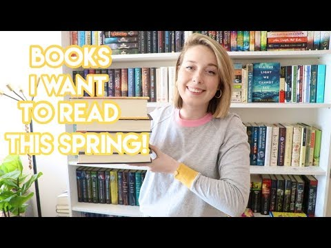 Top 5 Books I Want To Read This Spring!!