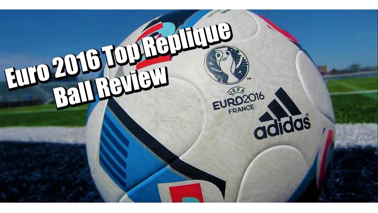 acoplador disco voz  Adidas Euro 2016 Top Replique Ball Review | Soccer2kTV - YouTube