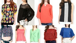 Latest tops designs for girls new fashionable