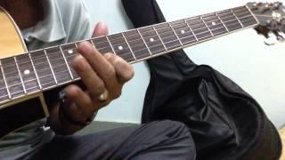 Mùa thu lá bay - guitar
