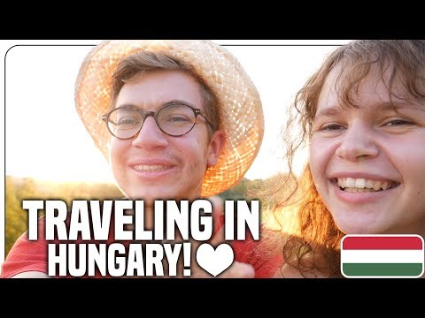 Hitchhiking, Meeting Fans, Couchsurfing in Hungary - Travel Vlog
