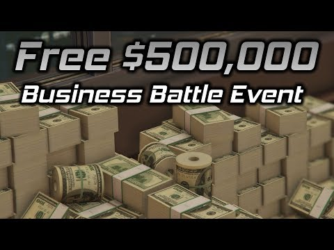 GTA Online: Free $500,000 And Business Battle Event Weekend