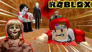 ROBLOX | Visit a ghost doll with Annabelle in a horror elevator | The Scary Elevator | Vamy Tran