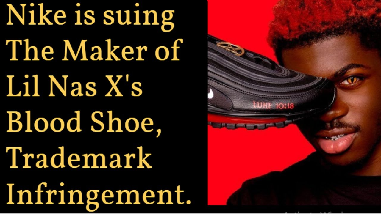 Nike sues the maker of Lil Nas X 'Satan Shoes' for trademark ...