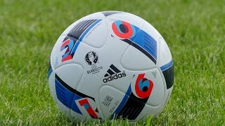 "Official Euro 2016 Matchball - ""Adidas Beau Jeu"" Test/Review by SportyTv"