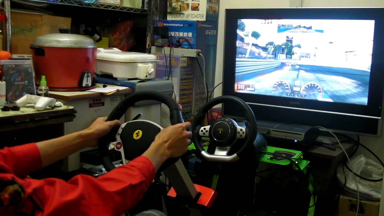 Thrustmaster Ferrari 430 Scuderia Cockpit Youtube