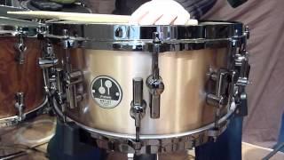 """Sonor Artist Series Bronze Snare 14"""" x 6"""" - Demo [HD]"""