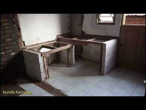 Cara Membuat Meja Dapur Mudah Dan Cepat Kitchen Table
