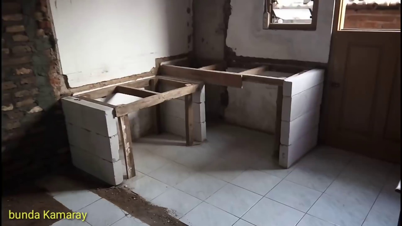 Cara Buat Meja Dapur Mudah Dan Cepat Kitchen Table Youtube Cara membuat meja dapur
