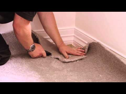 How to install Carpet - Dunlop Carpet & Underlay Installation Guide