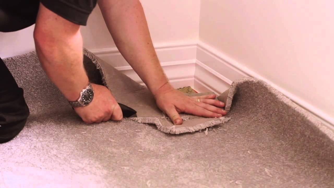How to install Carpet  Dunlop Carpet  Underlay