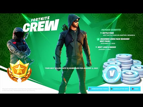 How to see The NEW Crew Pack REWARDS..! Fortnite Battle Royale