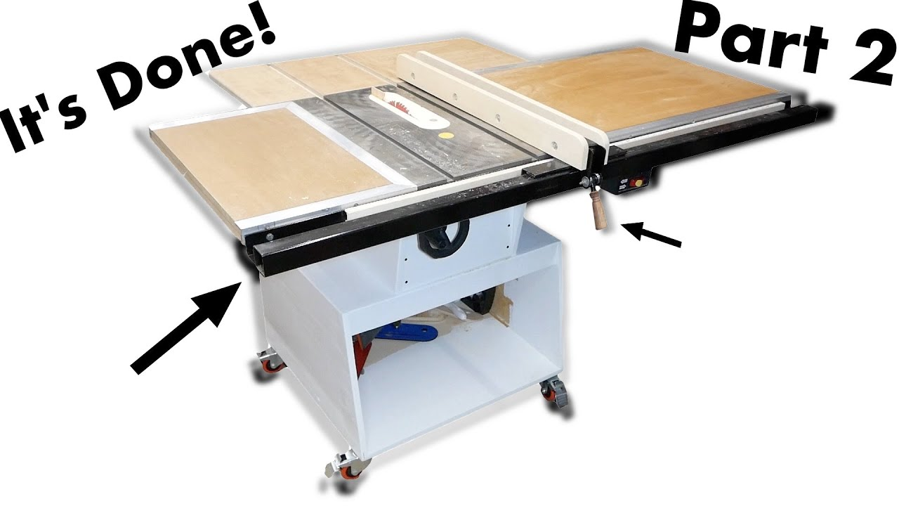 Completely Rebuilding My Old Table Saw - Part 2: The Fence