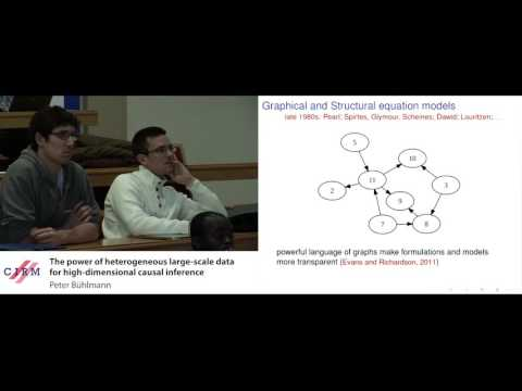 Peter Bühlmann : The power of heterogeneous large-scale data for high-dimensional causal inference