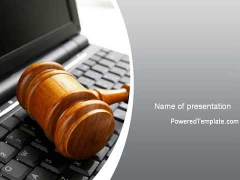 cyber law powerpoint templatepoweredtemplate - youtube, Powerpoint templates