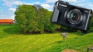 canon powershot g7x mark ii test video