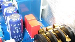 видео Ламповые усилители, конденсаторы для акустики