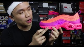detailed look fd9b6 f9dd6 Nike Air Max Plus97 Racer PinkHyper Magenta Unboxi