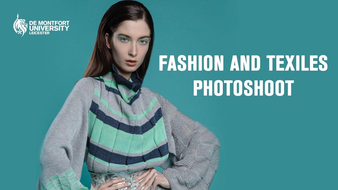 Fashion And Textiles Bts De Montfort University Youtube