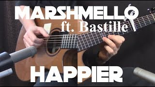 Kelly Valleau Happier Marshmello ft.Bastille - Fingerstyle Guitar.mp3