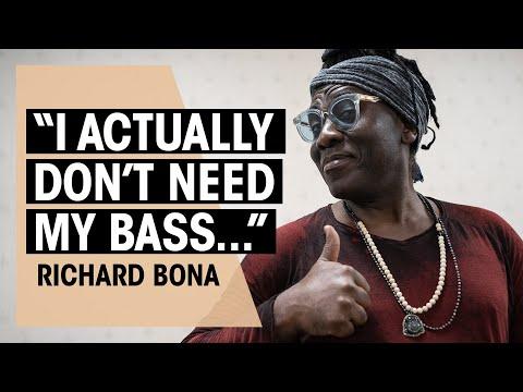 Richard Bona | How To Play Bass Solos | Interview | Thomann