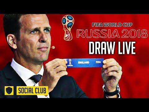 WORLD CUP 2018 DRAW LIVE REACTION| ENGLAND DRAW PANAMA!