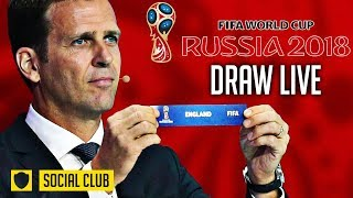 WORLD CUP 2018 DRAW LIVE REACTION| ENGLAND DRAW PANAMA!