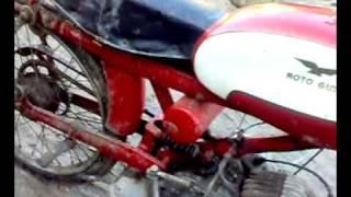 Moto Guzzi Cardellino 73cc Sound