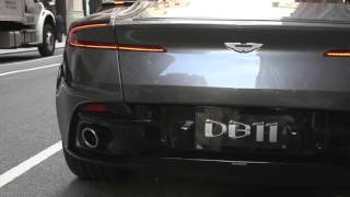 NEW 2017 Aston Martin DB11 - Sound of Exhaust - Vroom!