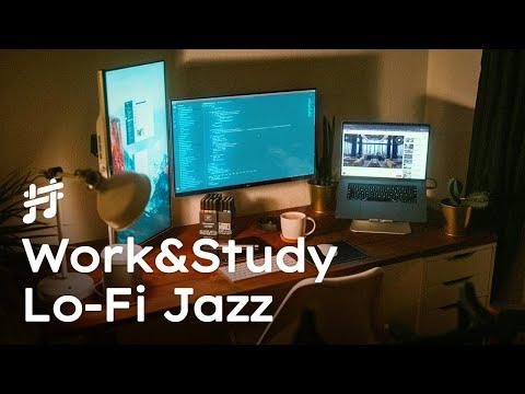 Work & Study Lofi Jazz - Relaxing Smooth Background Jazz Music for Work, Study, Focus, Coding