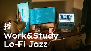Work & Study Lofi Jazz  Relaxing Smooth Background Jazz Music for Work, Study, Focus, Coding