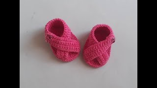 Super Fast Baby Shoes Crochet Design