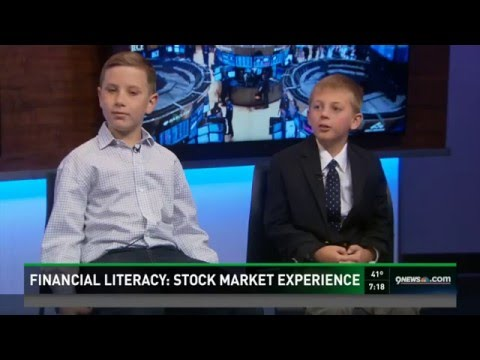 Teaching kids about financial literacy April 2016 (Stock Market Experience)