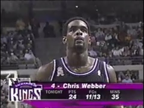 Chris Webber Puts on a Show in Hostile Detroit (2002)