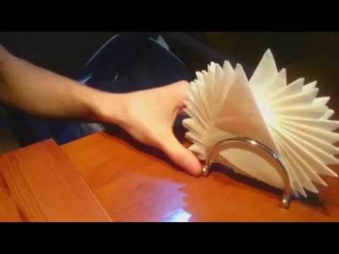 3 СПОСОБА ОФОРМЛЕНИЯ САЛФЕТОК для праздничного стола | Irina Belaja