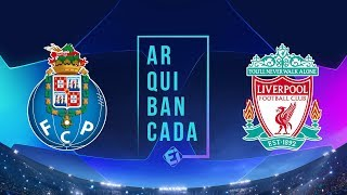 PORTO X LIVERPOOL (NARRAÇÃO) - CHAMPIONS LEAGUE
