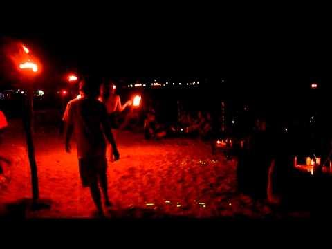 Beach nightlife, Perhentian Islands,...