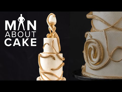 SNAKES on a Wedding Cake James' Phobia!  Man About Cake Wedding Season with Joshua John Russell