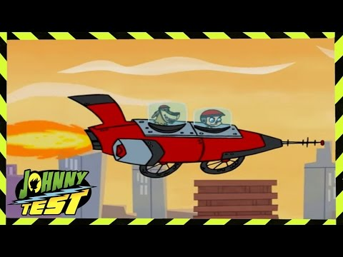 Johnny Test | Jonny & the Ice Pigs // Johnny's House of Horrors | 105