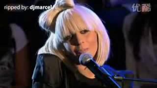 Lady Gaga   Poker Face Acoustic Live