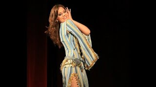Alexandra Varga - shaabi at the gala show of Mercedes Nieto, bellydance