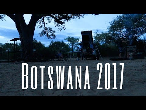 Botswana Overland Trip December 2017 -  Day 1