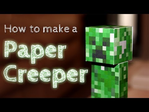 How To Make A Paper Creeper