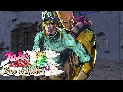 Jotaro and DIO vs. Johnny and Alternate World Diego (JJBA Eyes Of Heaven)