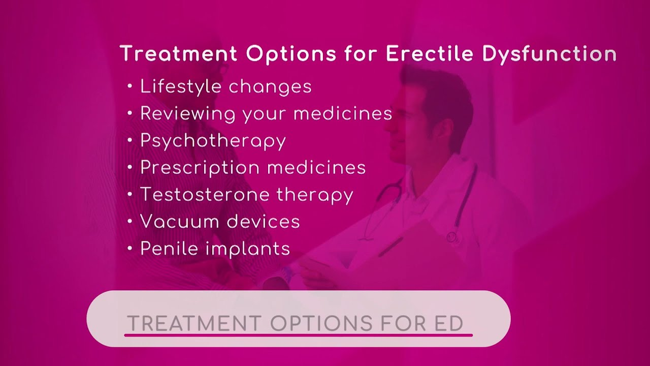 Treatment Options for ED
