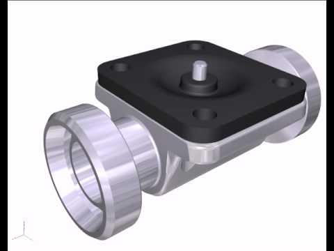 Burkert diaphragm valve youtube burkert diaphragm valve ccuart Choice Image